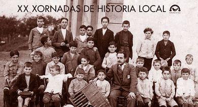 cartaz XX xornadas de historia local da Pomba do Arco