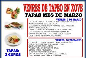 VENRES DE TAPEO 2017 -2 - MARZO