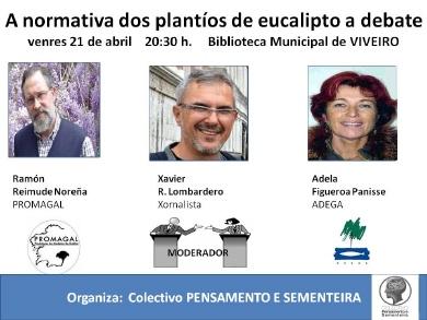 A normativa dos plantíos de eucalipto a debate Segunda publicidade