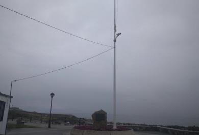 260617 Foto cámaras praias Burela