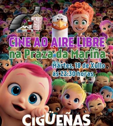 Cine Burela 18 de xullo