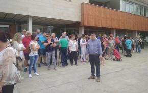 180817 Foto concentración Burela