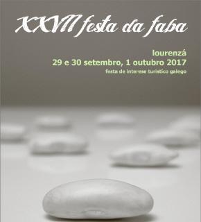 Cartel Festa da Faba Lourenzá 2017