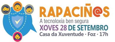 Cartel Rapaciñ@s en Foz 28-09-17