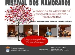Cartel Festival dos Namorados Foz 2018