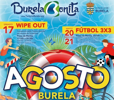 Actividades Agosto 2019 Burela