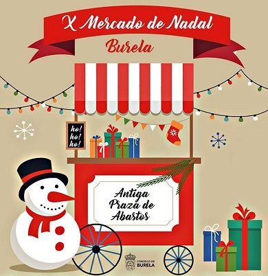 Mercado do Nadal Burela
