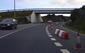 Administracións coinciden en dificultar o trafico pola estrada da costa