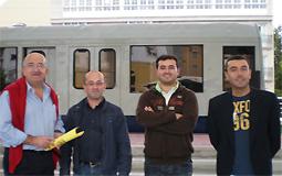 Moción do PP para soterrar a vía do tren en Burela