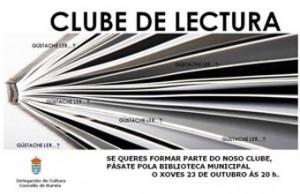 Burela pon en marcha un club de lectura