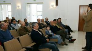 O alcalde de Cervo informou da rede de saneamento ós veciños da Senra