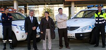 Alcalde e a directora de Protección Civil falaron de crear dun servizo de acción rápida en Burela
