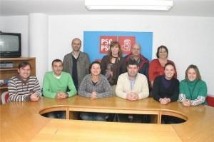 Nova Executiva do PSOE de Burela