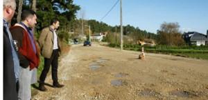O alcalde de Cervo denuncia o abandono da estrada San Román-Rúa