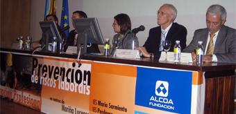Educación e Alcoa colaboran na prevención de riscos en centros de FP da Mariña
