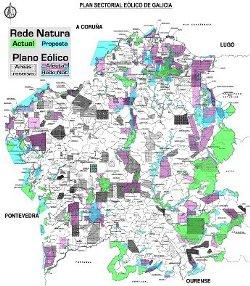 ADEGA pide á Xunta non autorizar parques eólicos sen aprobar un novo plano sectorial