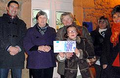 A ACIA de San Ciprián entregou un premio de 1.200 euros