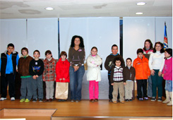 Entrega de premios do certame de Nadal de Burela