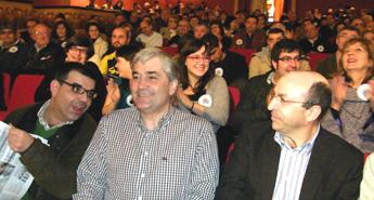 O cabeza de lista do BNG interviu nun mitin en Viveiro con Manuel Parga