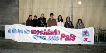 Galiza Nova anima á mocidade a votar ao BNG