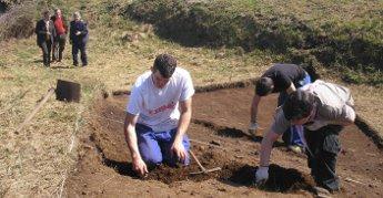 Comezaron as escavacións arqueolóxicas no castro das Grobas de Ribadeo