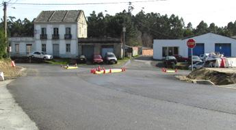 O BNG de Foz pide que se modifique o cruce da estrada Ferreira-Foz coa N-642, na Corredoira