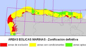A costa de Lugo pode acoller parques eólicos según ó Mapa Eólico Marino