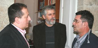 Anselmo López Carreira falou da idade media no ciclo de historia de Galiza de Mariña Patrimonio