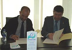 Convenio Expomar e cofraría pescadores de Burela