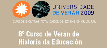 VIII Curso de Verán de Historia da Educación en Foz