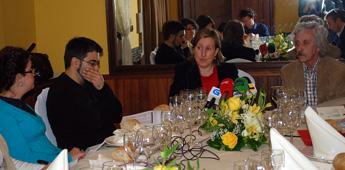 A vicepresidenta da Deputación, María Xosé Vega Buján, ve positivo o balance de dous anos de mandato