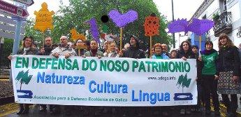 Para ADEGA o futuro do galego non pode someterse a referendum