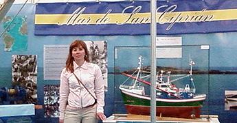A concelleira Mar de Burela desexa que o Encontro de Embarcacións Tradicionais se celebre en A Mariña