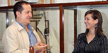 A delegación de Cultura da Deputación recoñece o traballo da violinista de Xove Nazaret Canosa