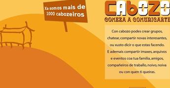 A rede social galega Cabozo.com estrea nova versión e supera os 1100 usuarios