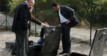 Remataron as obras de saneamento de O castro, na parroquia de Castelo, en Cervo