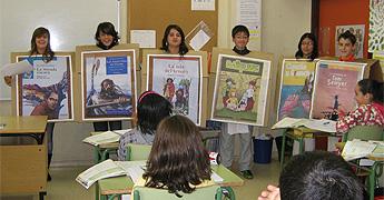 O instituto Perdouro de Burela celebrou o Mes Internacional da Biblioteca Escolar