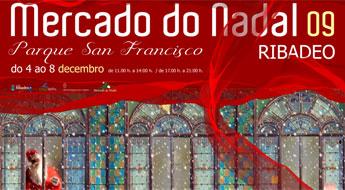 Ribadeo celebra o tradicional Mercado do Nadal do 4 ao 8 de decembro