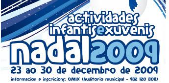 Ribadeo organiza numerosas actividades para os nenos durante as festa do Nadal