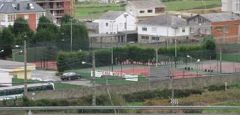 O BNG de Foz aclara que as pistas de tenis e de padel de Marzán son de uso público