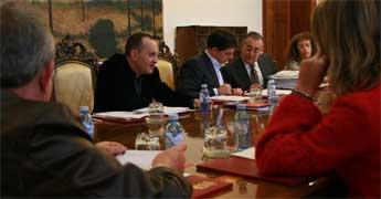 A Deputación investiu no último mes 2,7 millóns de euros en dotacións para o Consorcio Provincial de Bombeiros