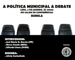 Debate sobre a política municipal de Burela