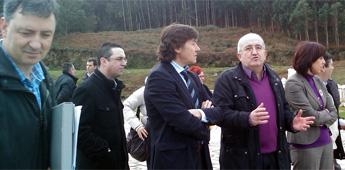 O PP de Burela satisfeito do compromiso da Xunta co campo de fútbol de herba artificial de A Marosa