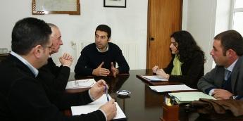 Cervo, Alcoa e Augas de Galicia asinaron a acta de expropiación que garante o abastecemento de auga a Cervo e Burela