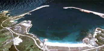 Segundo Portos de Galicia é viable abrir ao tráfico comercial o dique norte de Morás investindo 30 millóns de euros