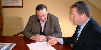Portos iniciará o proxecto de construción do dique de abrigo de Moras en canto lle adscriban os terreos