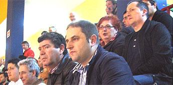 A selección galega de fútbol sala gañoulle a selección de libia en Burela
