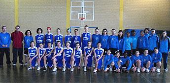 A selección de Galicia alevín de Baloncesto gañou por catro puntos ao equipo infantil do C.B. Burela