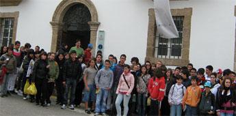 Estudantes de catro centros educativos do Bierzo visitaron Mondoñedo