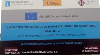 O responsable de Obras de Burela anuncia que a rede de saneamento do camiño de Foxo iniciase en maio